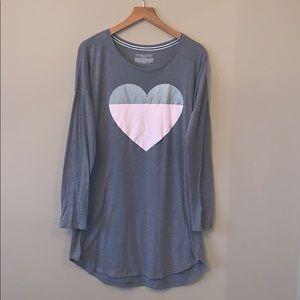 Victoria's Secret T-Shirt Dress Pajamas